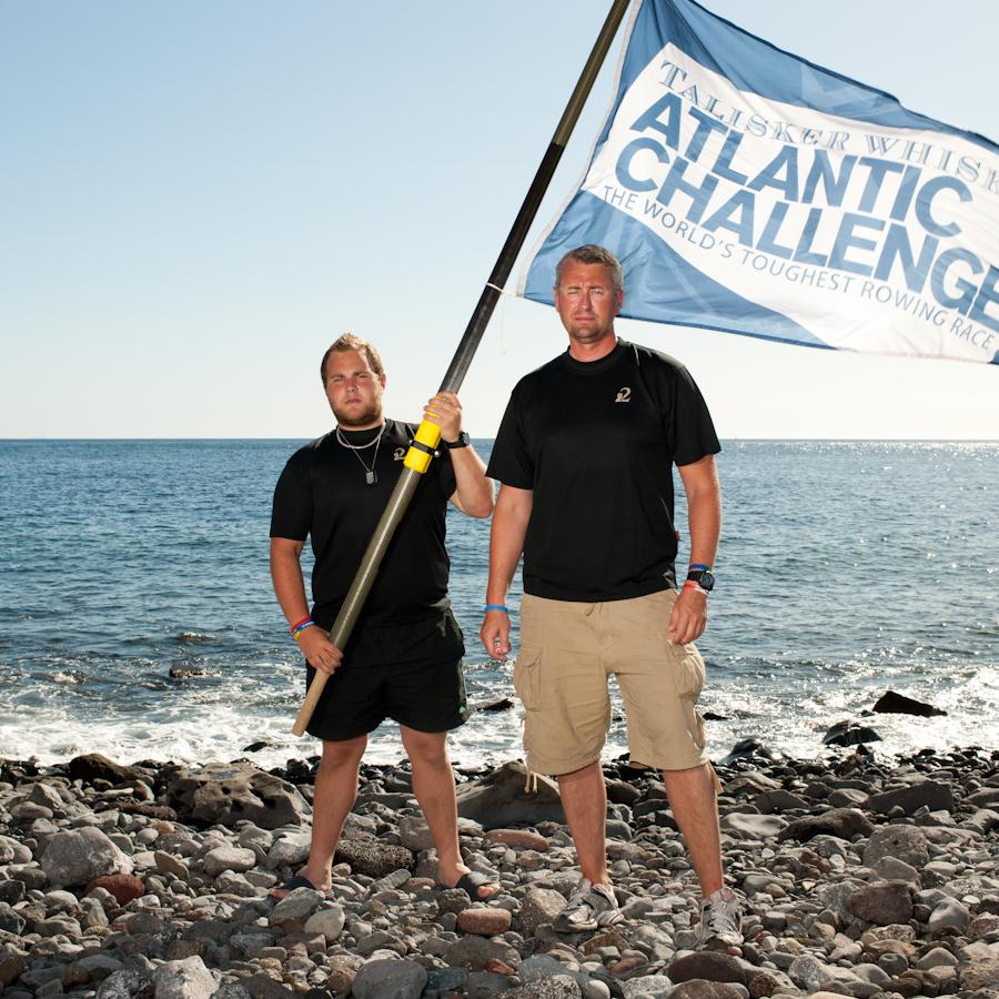 Luke James Miller Talisker Atlantic Challenge, 2012